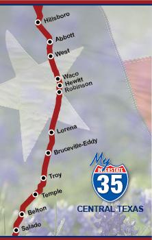 I-35 Daily Lane Closure | McLennan County, TX