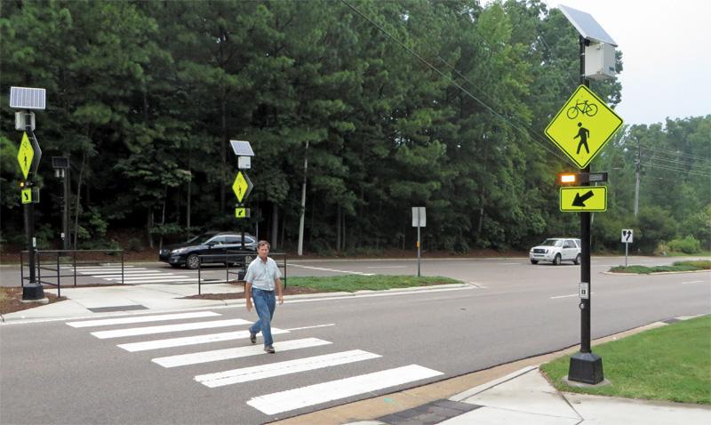 Improving Pedestrian Safety